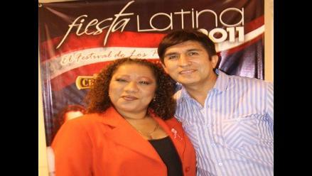 Bartola y Fernando Armas en Fiesta Latina 2011  con Rubén Blades