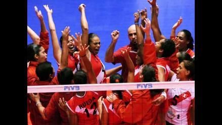 Selección peruana de voleibol derrotó a México en Copa Panamericana