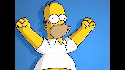 Homero Simpson rindió homenaje a Facundo Cabral