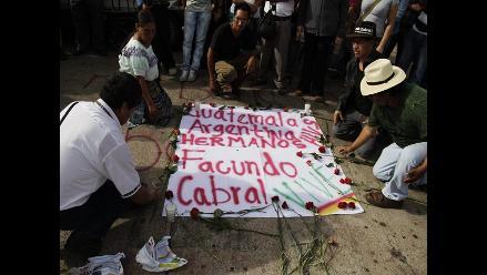 La ONU investiga crimen de Facundo Cabral en Guatemala