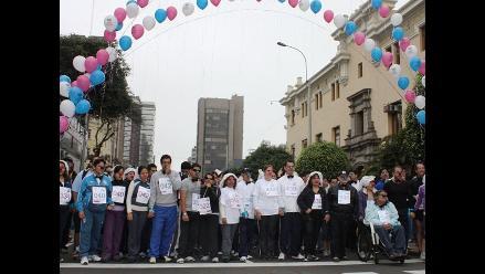 Más de mil personas corrieron en la primera parejatón de Unicef