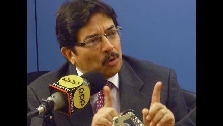 Ministro Cornejo le pide a Susana Villarán que esté mejor asesorada