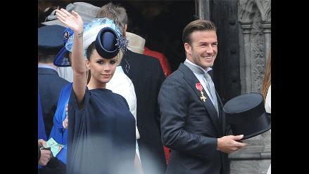 Victoria y David Beckham le ponen a su hija el nombre de Harper Seven