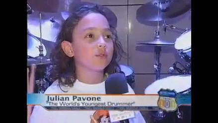 Récord Guinness: Niño de EE.UU. es el baterista profesional más joven
