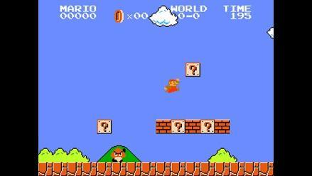 Completan Super Mario Bros. con la menor cantidad de puntos posible