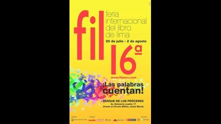 16 Feria Internacional del Libro de Lima del 20 de julio al 2 de agosto