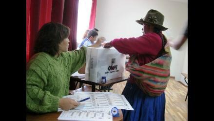 ONPE publica información sobre multas de electores omisos