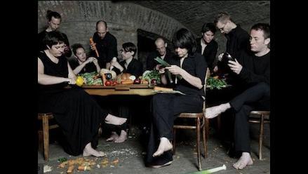 Conozca a los músicos que tocan melodías con vegetales