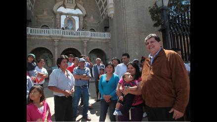 Presidente Alan García pide perdón y perdona ofensas