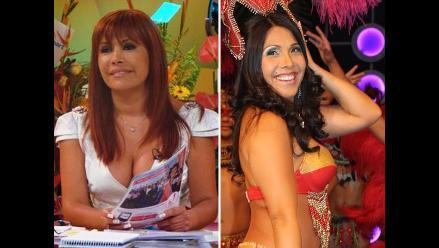 Magaly Medina se burla de Tula Rodríguez en ´Risas y salsa´