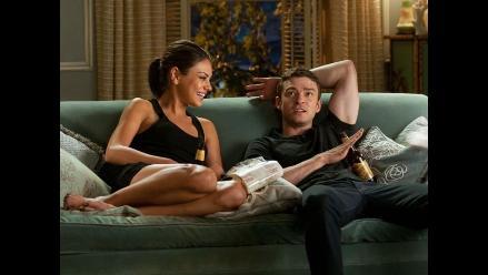 Justin Timberlake y Mila Kunis protagonizan candentes escenas íntimas