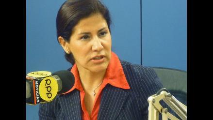 Rosa Florián calificó Ley de Austeridad como ´error de este Gobierno´