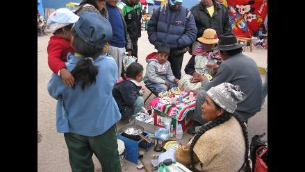 Puno: El 75% de niños fueron vacunados contra rubeola, sarampión y polio