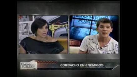 Mónica Cabrejos y Luis Corbacho tuvieron punzante encuentro en vivo