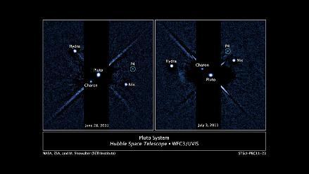 El telescopio espacial Hubble descubre la cuarta luna de Plutón