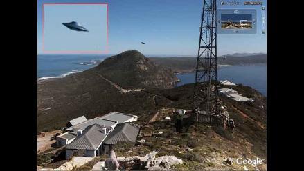 Google Earth capta supuesto ovni en la costa de Sudáfrica