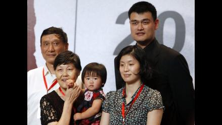 Yao Ming, el deportista más famoso de China, anuncia su retirada