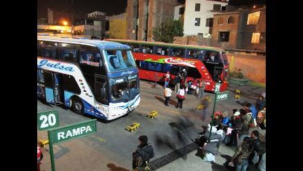 Arequipa: Buses interprovinciales son escoltados para evitar asaltos