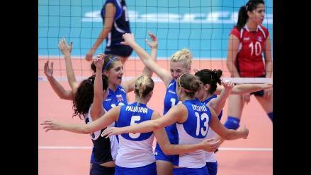 Eslovaquia venció 3-0 a Túnez en inicio del Mundial de Voleibol