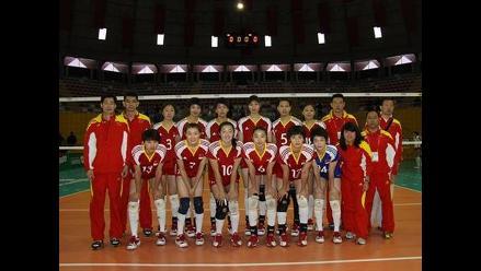 China venció 3-0 a Rusia por el Mundial de Voleibol