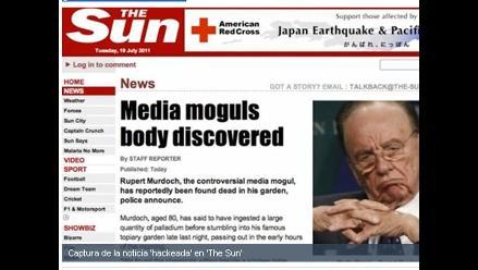 Despiden a periodista de The Sun por supuestas escuchas ilegales