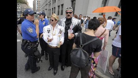 Histórico primer día de matrimonios gays en Nueva York
