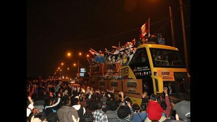 La selección peruana ya está en Lima luego de disputar la Copa América