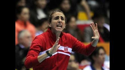 Natalia Málaga feliz por la clasificación de Perú