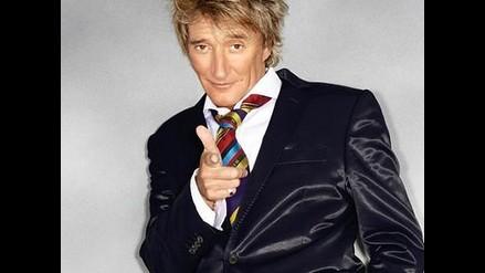 Rod Stewart llega a Lima para ofrecer espectacular concierto