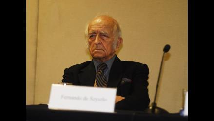Fernando de Szyszlo ya no será jurado en el Festival de Lima