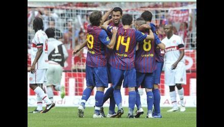 Barcelona vence a Inter de Brasil en penales y alcanza final de la Audi Cup