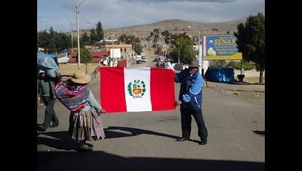 Las Fiestas Patrias en la frontera Perú-Bolivia