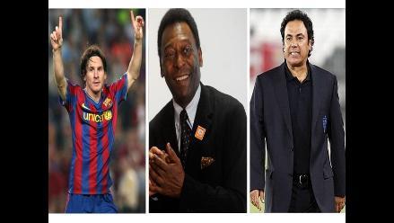Messi, Pelé y Hugo Sánchez elegidos como Patrimonio Deportivo Humano