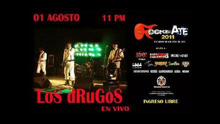 Los Drugos tocarán sus éxitos en el festival RockeAte 2011