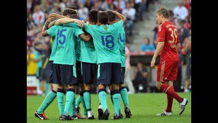Barcelona vence a Bayern y alcanza la Audi Cup gracias a Thiago Alcántara
