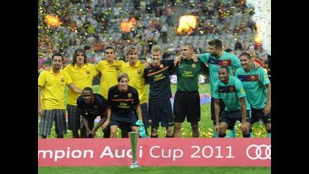 Vea en imágenes el campeonato del Barcelona en la Audi Cup