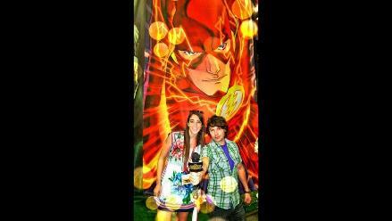 Bruno Pinasco grabó programa especial desde el Comic-Con