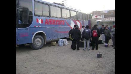 Ica: Asaltan un bus interprovincial y se llevan 10 mil nuevos soles