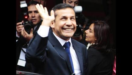 Humala: Dedicaré mi energía para acabar con la exclusión y la pobreza