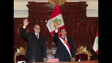 Desmanes de parlamentarios tiñen inicio del mensaje de Ollanta Humala