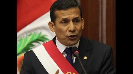 Conozca las principales propuestas del presidente Ollanta Humala