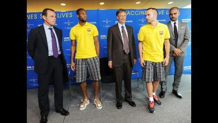 Barcelona firma acuerdo de colaboración con la Fundación de Bill Gates