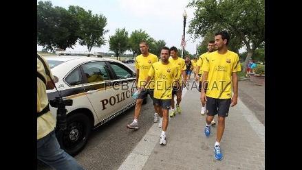 Prohiben al FC Barcelona entrenar en parque cercano a la Casa Blanca