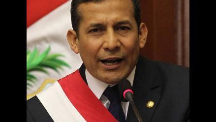 Discurso presidencial: destacan mensaje antidrogas de Ollanta Humala