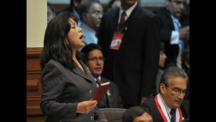 Martha Chávez: ´No me presentaré a ninguna sesión secreta´