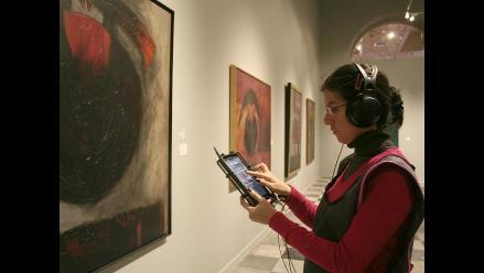 MALI ofrece audioguías en exposición de Fernando de Szyszlo