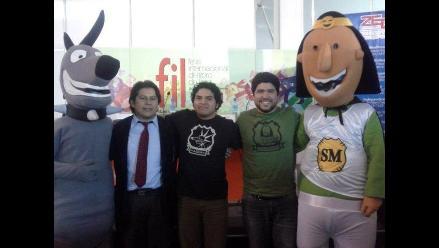Supermanco conquistó al público de la Feria Internacional del Libro