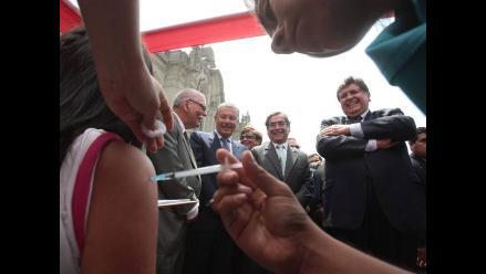 Piura: 95% de niños fueron vacunados contra la Rubéola y Paperas
