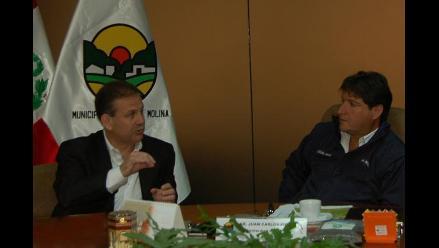 Tejada coordinará con gobiernos locales mejora de la calidad de vida de la población