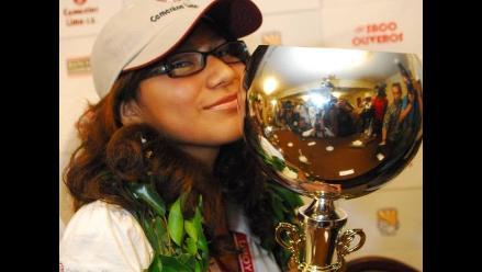 Daysi Cori imparable en el Mundial Sub 20 de Ajedrez en la India